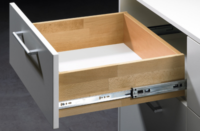 KA 5632 SC FULL EXTENSION RUNNER WITH STOP CONTROL FOR SIDE INSTALLATION 40KG HETTICH